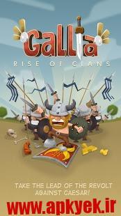 دانلود بازی ظهور قبیله ها GALLIA Rise of Clans GOLD 1.0.5 اندروید مود شده