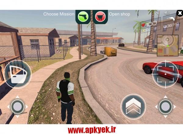 دانلود بازی گنگ جنگ LA GANGWAR SIMULATOR 3D 1.1 اندروید