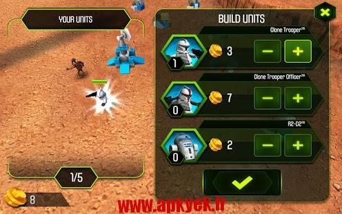 دانلود بازی جنگ ستارهها LEGO® STAR WARS™ ۱٫۳ اندروید