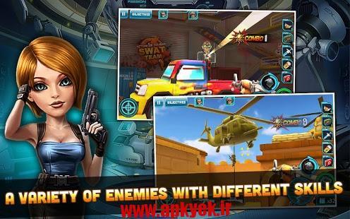 دانلود بازی اقدام به جنگ Action of Mayday: SWAT Team 1.0.2 اندروید