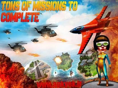 دانلود بازی جنگ هوایی هواپیما Air War Legends 1.2 اندروید