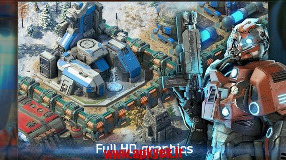 دانلود بازی نبرد در کهکشان Battle for the Galaxy 1.08.1 اندروید