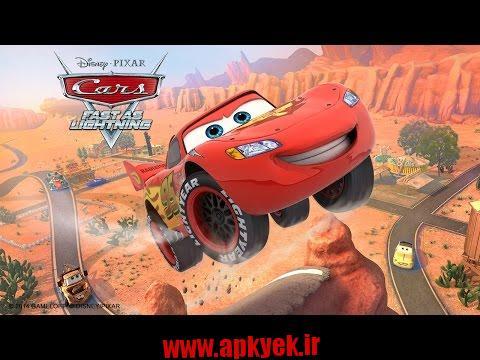 دانلود بازی اتومبیل سریع Cars: Fast as Lightning 1.3.4d اندروید مود شده