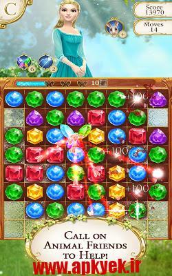 دانلود بازی پاییز سیندرلا Cinderella Free Fall 1.6.3 اندروید