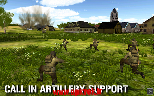 دانلود بازی ماموریت حماسی Combat Mission : Touch 1.51 اندروید
