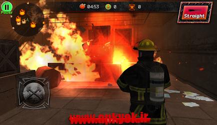 دانلود بازی اتش نشان شجاع Courage of Fire 1.0.1 اندروید