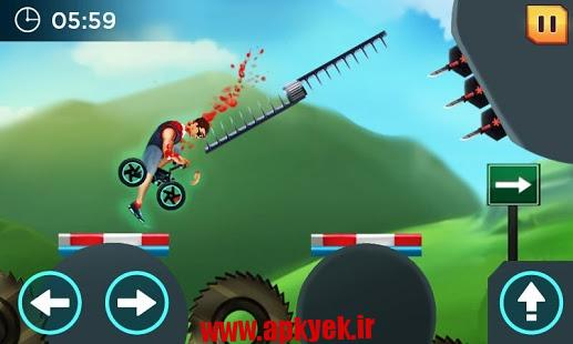 دانلود بازی دوچرخه دیوانه Crazy Wheels 1.0.4 اندروید