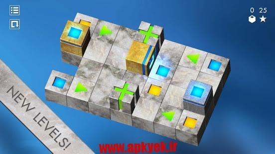 دانلود بازی چالش چوب بازی Cubix Challenge 1.21 اندروید