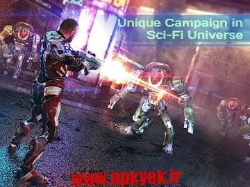دانلود بازی زمین مرده Dead Earth: Sci-fi FPS Shooter 2.0 اندروید