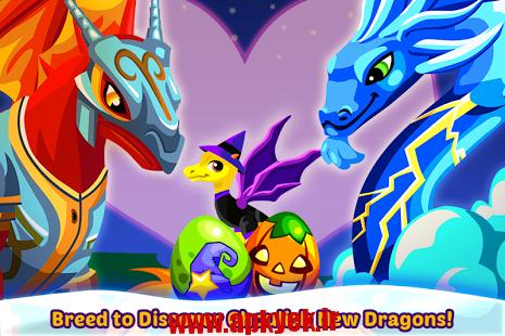 دانلود بازی اژدها هالووین Dragon Story: Halloween 2.2.2.3g اندروید