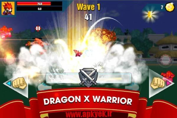 دانلود بازی جنگجو طوفانی Dragon X Fighter : Dark Storm 1.1.2 اندروید