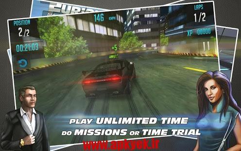 دانلود بازی فست رکینگ دو Fast Racing 2 1.0 اندروید