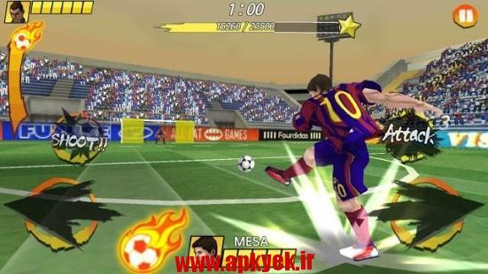 دانلود بازی پادشاه فوتبال Football King Rush 1.6.03 اندروید