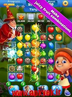 دانلود بازی زمین و میوه ها Fruit Land – match3 tour 1.9.0 اندروید