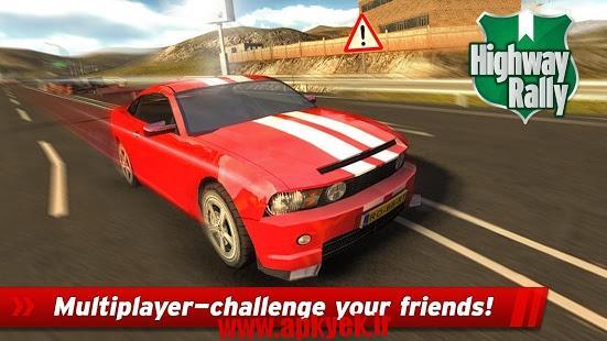 دانلود بازی رالی در بزرگراه Highway Rally: Fast Car Racing 1.004 اندروید
