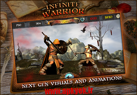 دانلود بازی جنگجو قدرتمند Infinite Warrior Remastered 1.0 اندروید