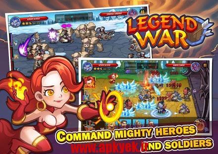 دانلود بازی جنگ افسانه ای Legend War اندروید