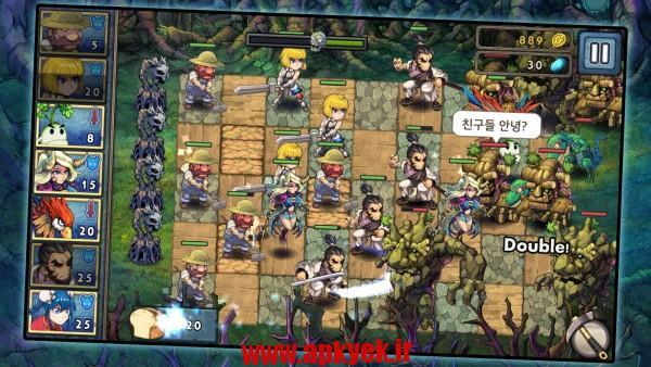 دانلود بازی افسانه جنگ Legend Wars 2 1.3.3 اندروید