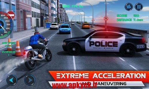 دانلود بازی موتور سواری در ترافیک Moto Traffic Race 1.0.4 اندروید