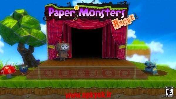 دانلود بازی هیولا کاغذی Paper Monsters Recut 1.17 اندروید