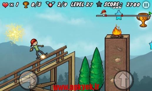 دانلود بازی پسر اسکیت باز Skater Boy 1.8 اندروید