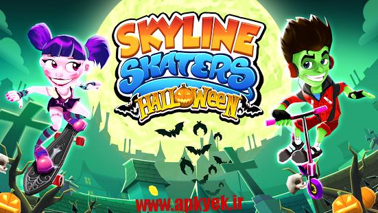دانلود بازی اسکیت بازان Skyline Skaters 2.6.1 اندروید