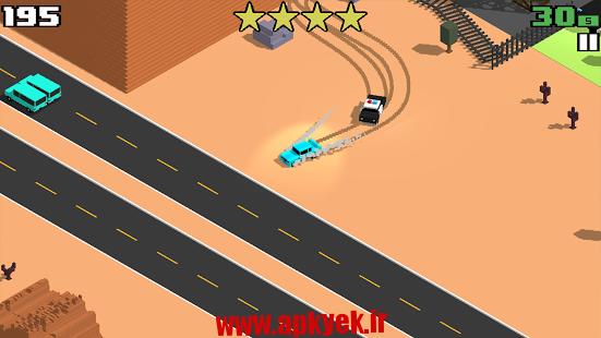 دانلود بازی تحت تعقیب Smashy Road: Wanted 1.2.0 اندروید