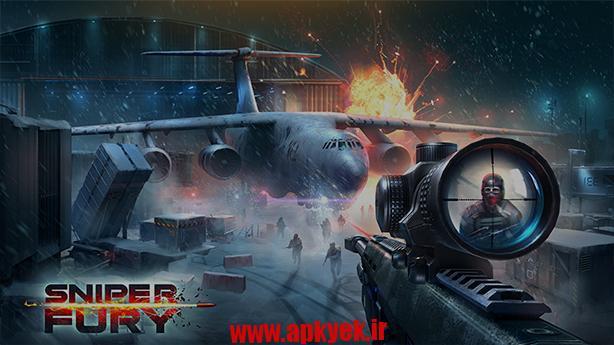 دانلود بازی اسنایپر Sniper Fury 1.5.0l اندروید