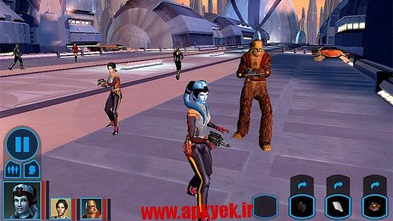 دانلود بازی گرافیکی جنگ ستارگان کترور Star Wars™: KOTOR اندروید
