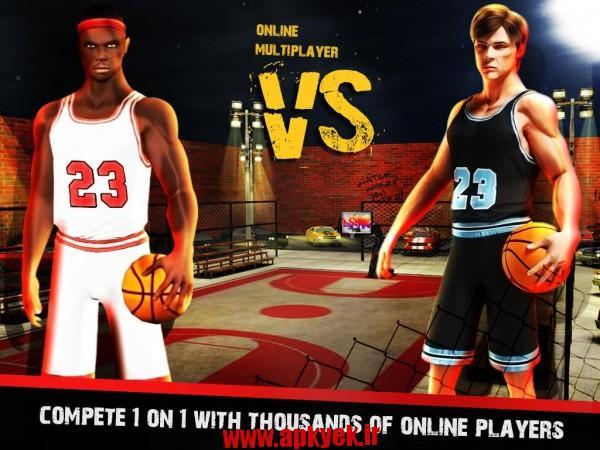 دانلود بازی بسکتبال خیابانی Street Basketball X – Real 3D 1.0.6 اندروید