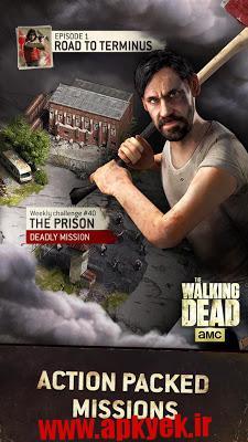دانلود بازی مردگان بی روح The Walking Dead No Man's Land 1.1.1.19 اندروید