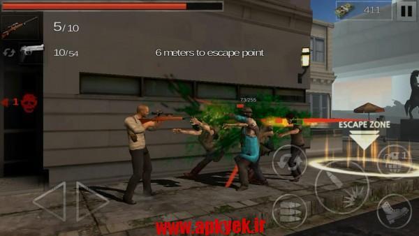 دانلود بازی حادثه زامبی ها The Zombie: Gundead 1.0.11 اندروید