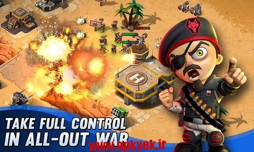 دانلود بازی سربازان کوچک Tiny Troopers Alliance 2.1.0 اندروید مود شده