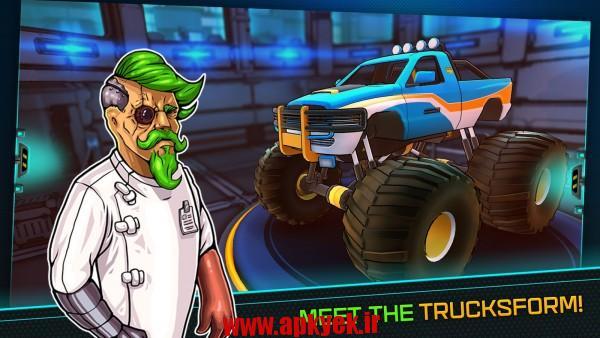 دانلود بازی ماشین جنگی ترک Trucksform 2.2 اندروید