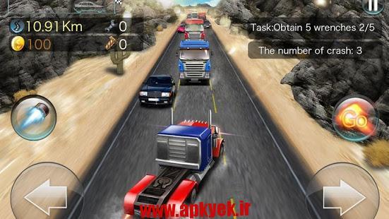 دانلود بازی مسابقه توربو Turbo Rush Racing 1.1.065 اندروید