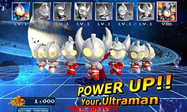 دانلود بازی قهرمانان آرنا Ultraman Rumble2:Heroes Arena 1.72 اندروید