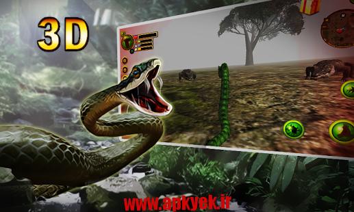 دانلود بازی پایتون وحشی Wild Python Hunt 3D 1.0 اندروید