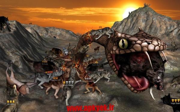 دانلود بازی آنلاین گرگ Wolf Online 1.4.0 اندروید