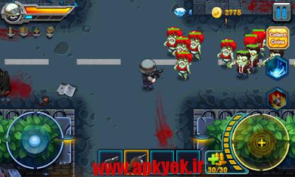 دانلود بازی موجودات زنده شده Zombie Fire 1.6 اندروید