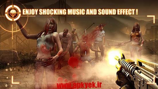 دانلود بازی زنده ماندن میان زامبی ها Zombie Frontier 2: Survive 2.7 اندروید