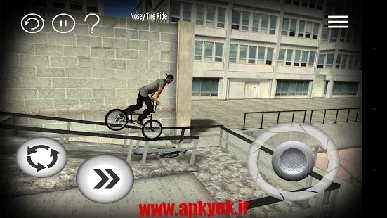 دانلود بازی بی ام ایکس BMX Streets 1.03 اندروید