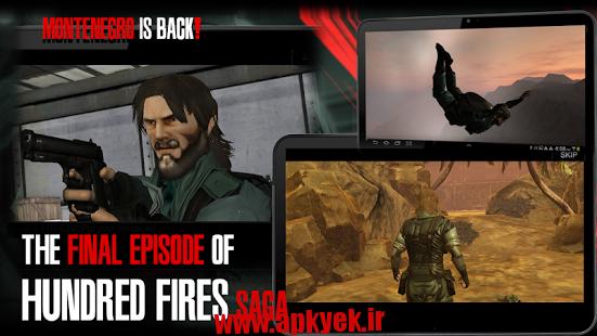 دانلود بازی اتش سوزی سه HUNDRED FIRES 3 Sneak & Action 1.1 اندروید