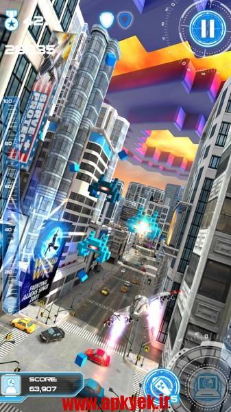 دانلود بازی جت ران Jet Run: City Defender 1.30 اندروید