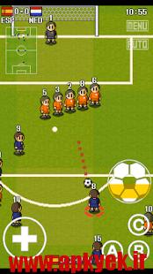 دانلود بازی کارتونی فوتبال PORTABLE SOCCER DX 2.4 اندروید