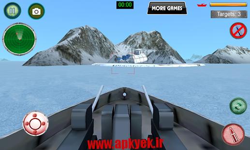 دانلود بازی نیروی دریایی ۳D Navy Battle Warship 1.3 اندروید