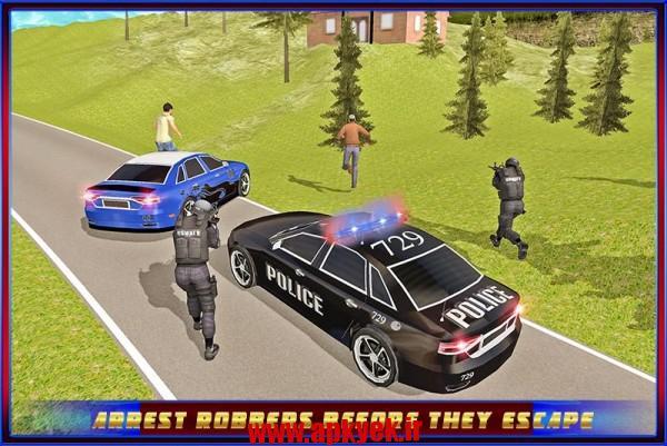 دانلود بازی دزد و پلیس Andreas Police Hill Chase 1.0 اندروید