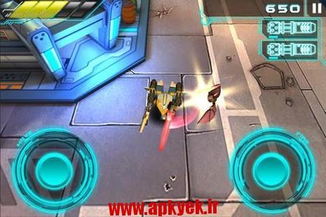 دانلود بازی جنگ بیرون مرزی Armorslays 1.6 اندروید مود شده