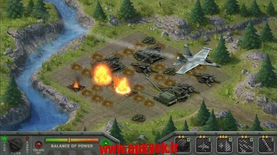 دانلود بازی حمله موشکی Artillerists 1.0.4 اندروید