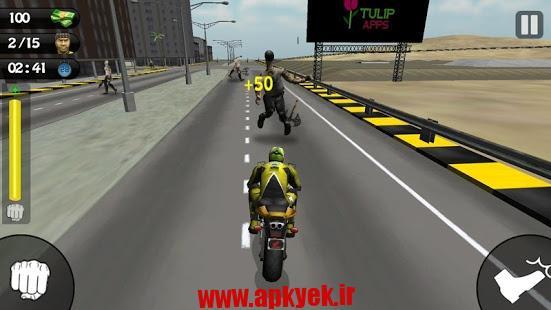 دانلود بازی حمله موتور سواران Bike Attack Race : Stunt Rider 4.2 اندروید