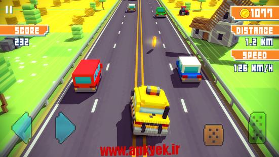 دانلود بازی بزرگراه Blocky Highway 1.2.0 اندروید